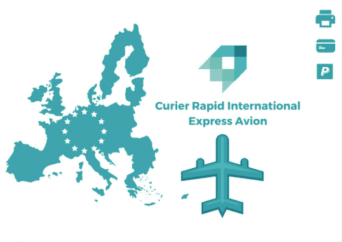 Curier Rapid Polonia Express Avion